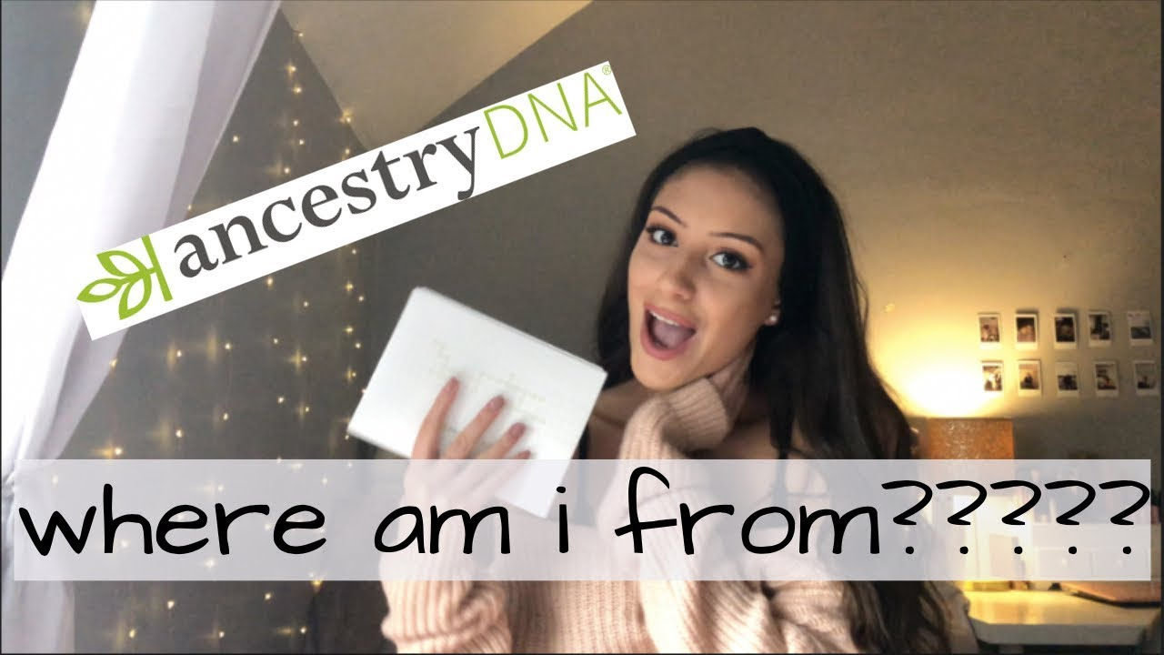 my ancestry dna results!!!!