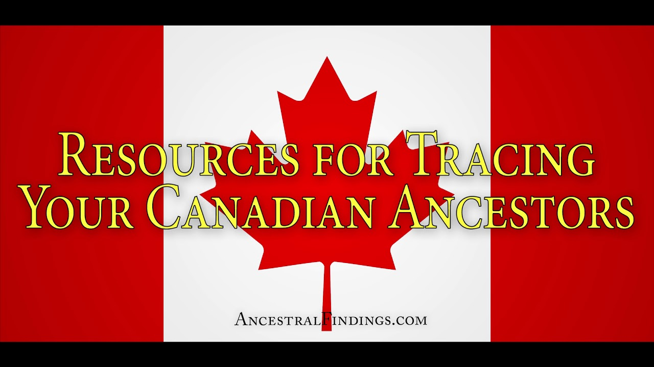 AF-159: Resource Guide to Canadian Genealogy