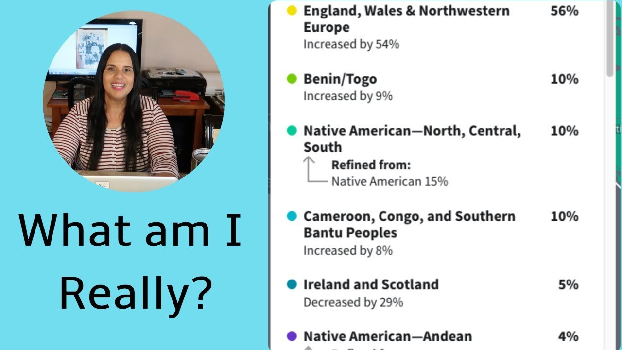 ANCESTRY DNA UPDATE | MY REGIONS HAVE CHANGED | WHERE DID MY NIGERIAN & SCANDINAVIAN GO?