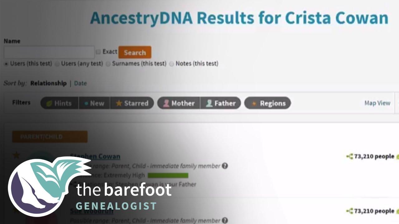 AncestryDNA | Mirror Trees | Ancestry