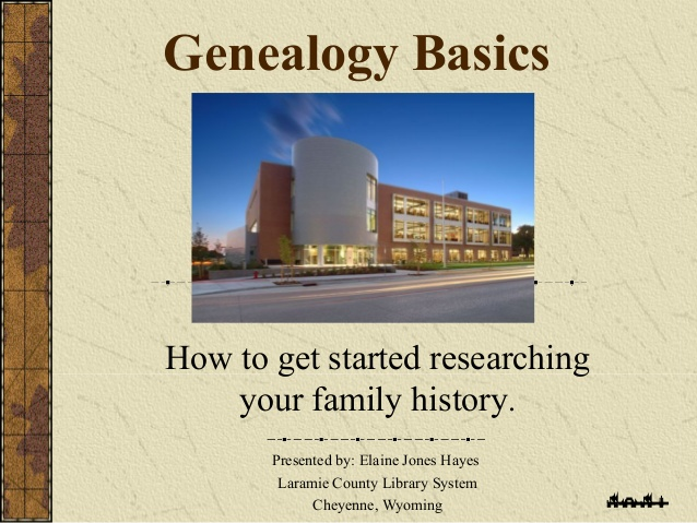 How to Get Started in Genealogy