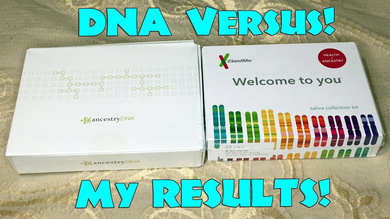 Results Comparison – AncestryDNA vs 23andMe – Genetic DNA Tests