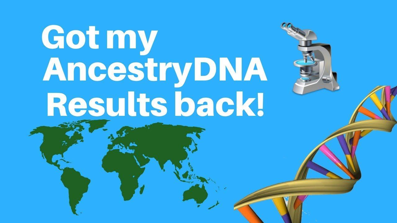 Got my Ancestry DNA results back