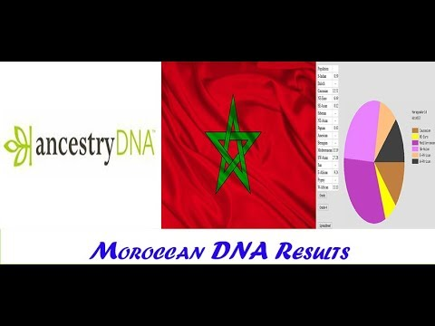 Moroccan DNA results.Ancestry Dna VS Gedmatch