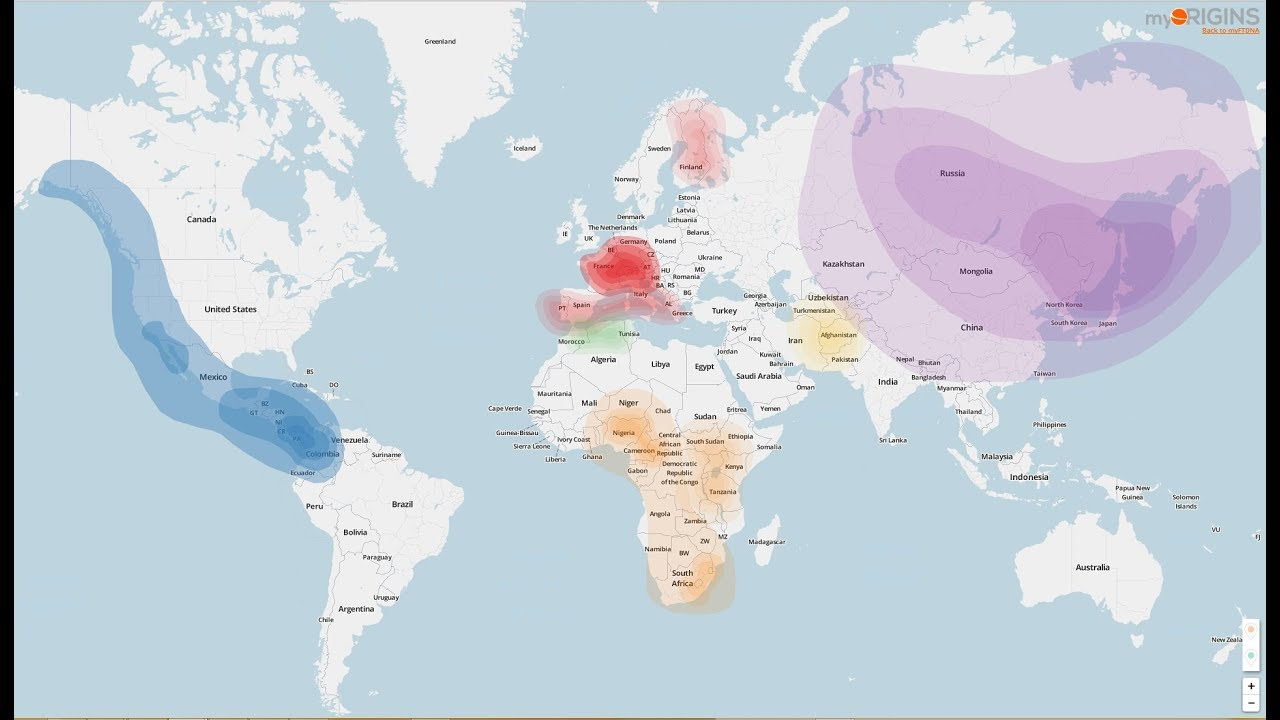 My Ancestry DNA Results (FamilyTreeDNA, MyHeritage, DNA LAND and Gedmatch)