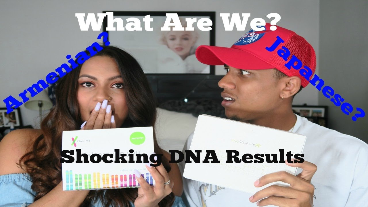 SHOCKING DNA RESULTS| Ancestry DNA Vs. 23andMe