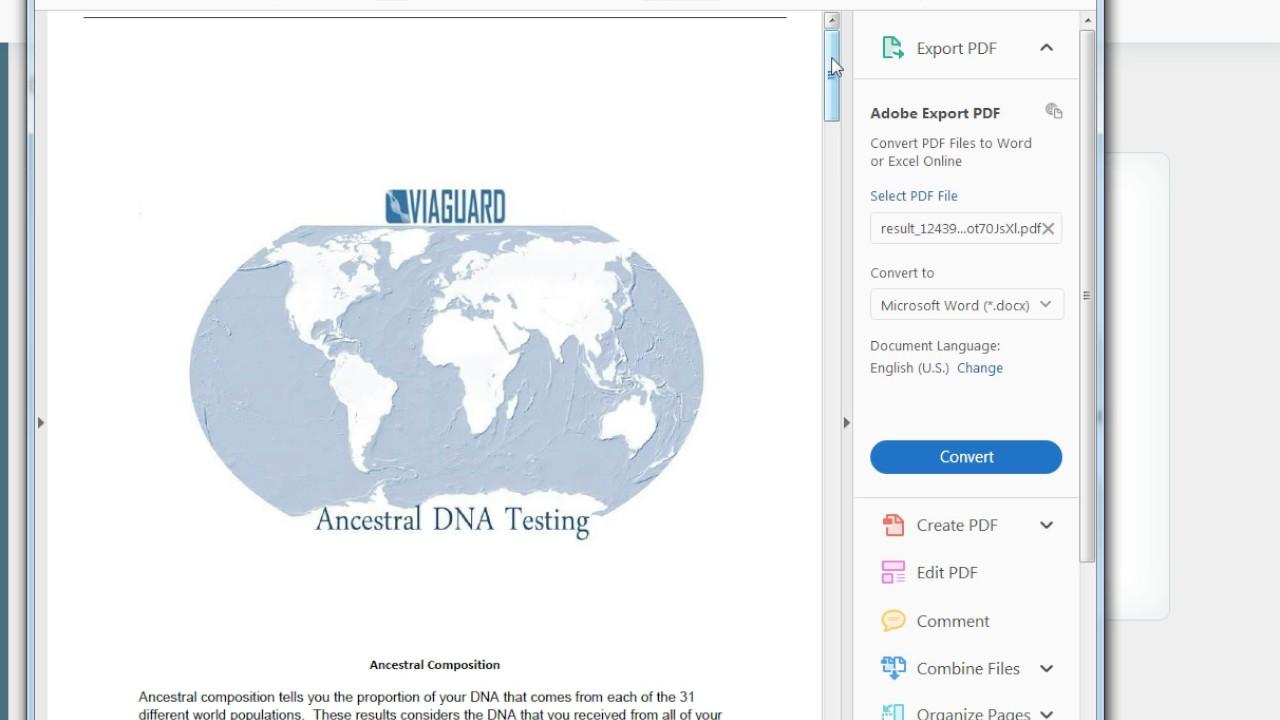 Accu-Metrics VIAGUARD ancestry dna testing