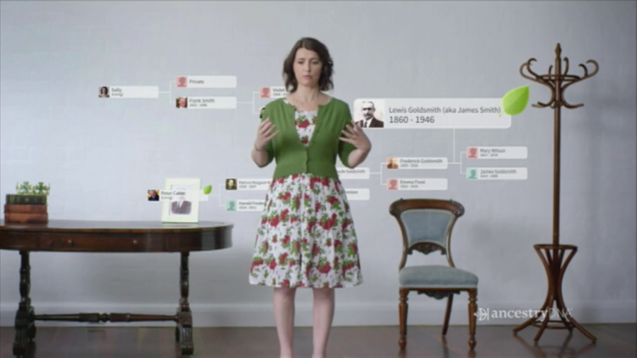 Ancestry DNA Kit TV Commercial 2016
