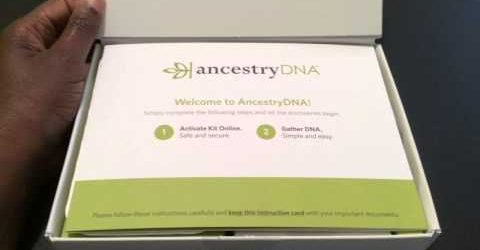 Ancestry DNA Kit Unboxing