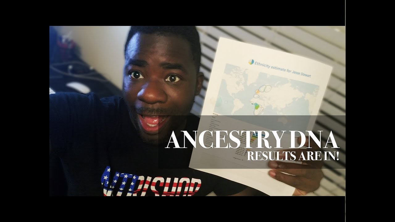 Ancestry DNA Results | Black People