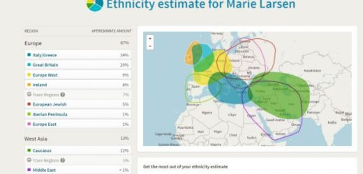 Ancestry DNA Test Results!