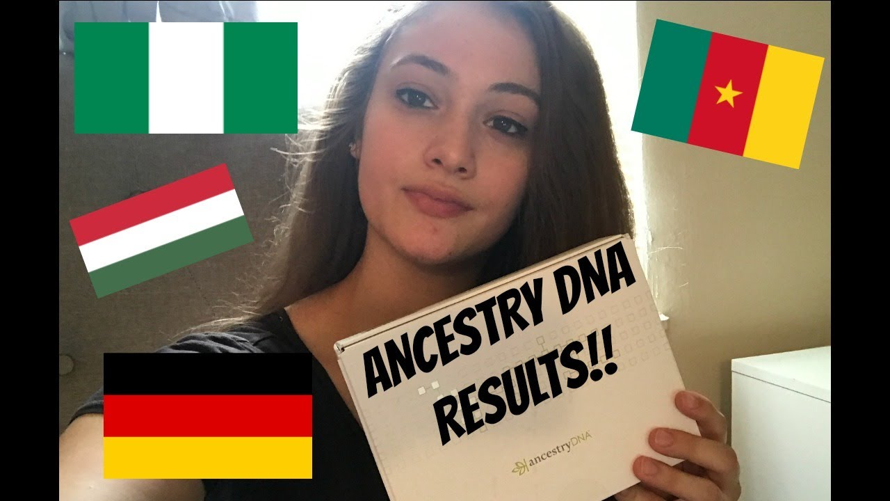 I'M NIGERIAN?! ANCESTRY DNA MIXED RACE RESULTS