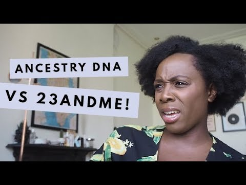 Trying Ancestry DNA VS 23andMe Kits + My Updated Results! | Kristabel